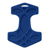 Helles Teeth Thor's Hammer Teether (Steel Blue) - Merrybubs