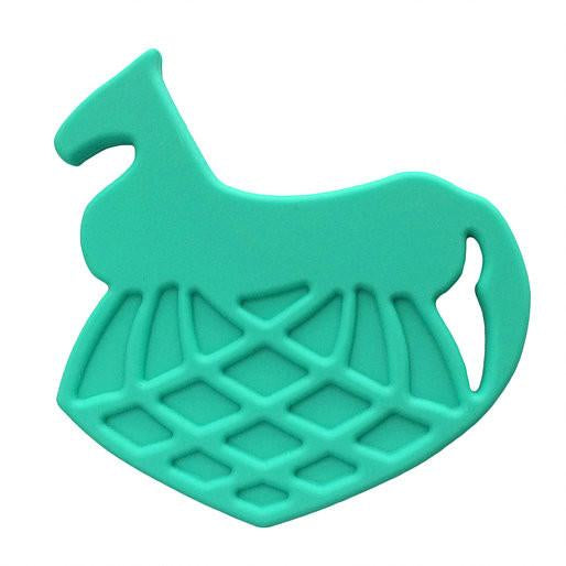 Helles Teeth Odin's Steed Teether (Glacial Green) - Merrybubs
