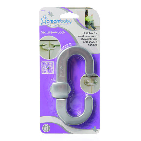 Dreambaby Secure-A-Lock - Silver DB01003