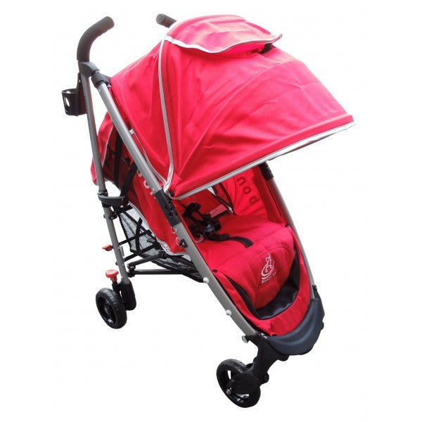 Bonbebe Freestar Stroller (Red) - Little Baby