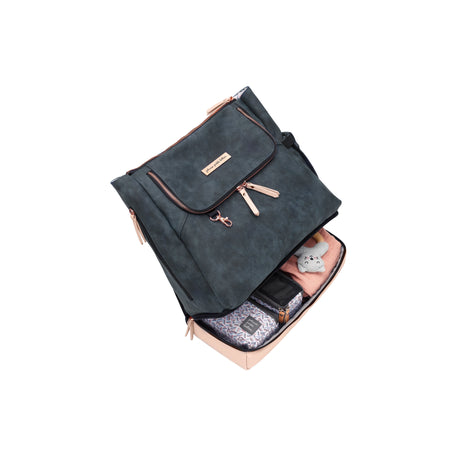 Petunia Pickle Bottom Pivot Pack: Indigo/Blush Matte