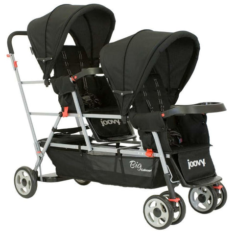 Joovy Big Caboose Stand On Triple Stroller - Black