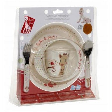 Sophie the Giraffe Mealtime Set - Kiwi Version - Little Baby