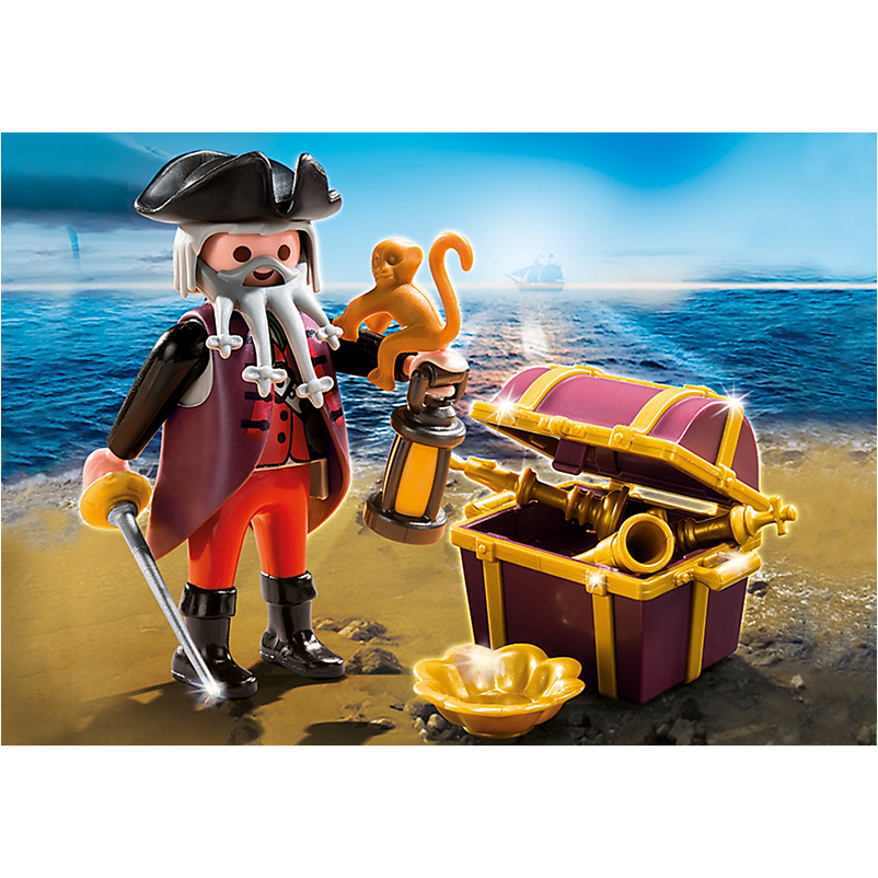4783 Pirate with Treasure Chest - Little Baby
