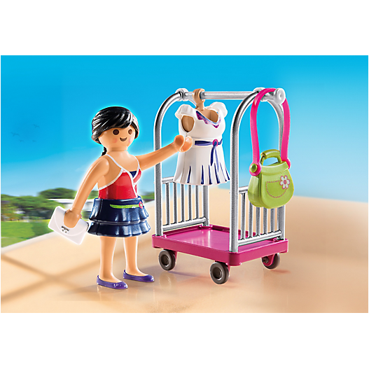 4792 Model with Clothing Rack - Little Baby