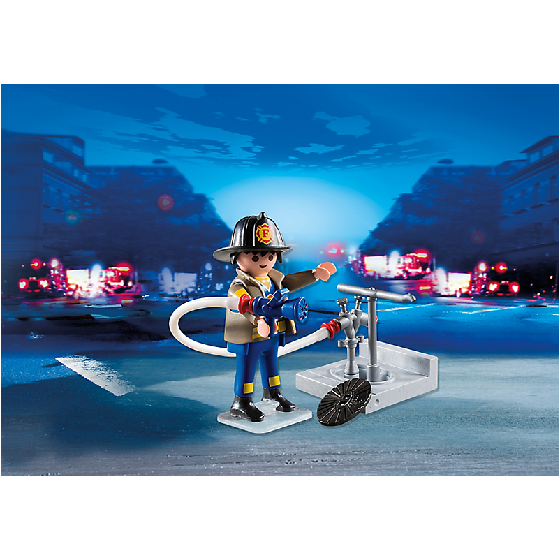 4795 Fireman with Hose - Little Baby