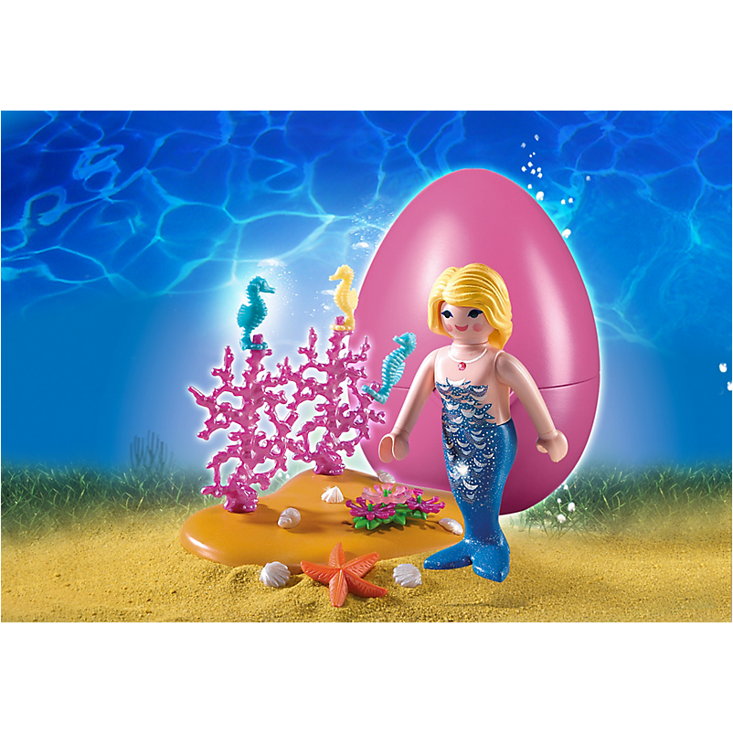 4946 Mermaid with Seahorses - Little Baby
