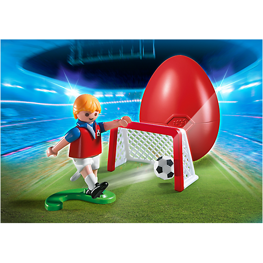 4947 Soccer Player with Goal - Little Baby