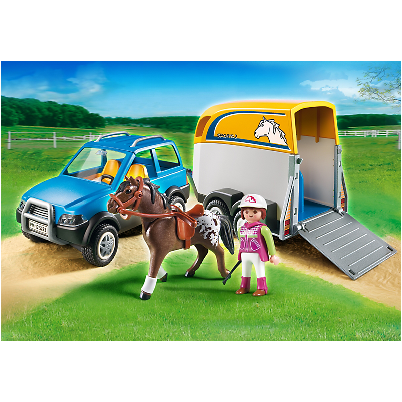 5223 SUV with Horse Trailer - Little Baby