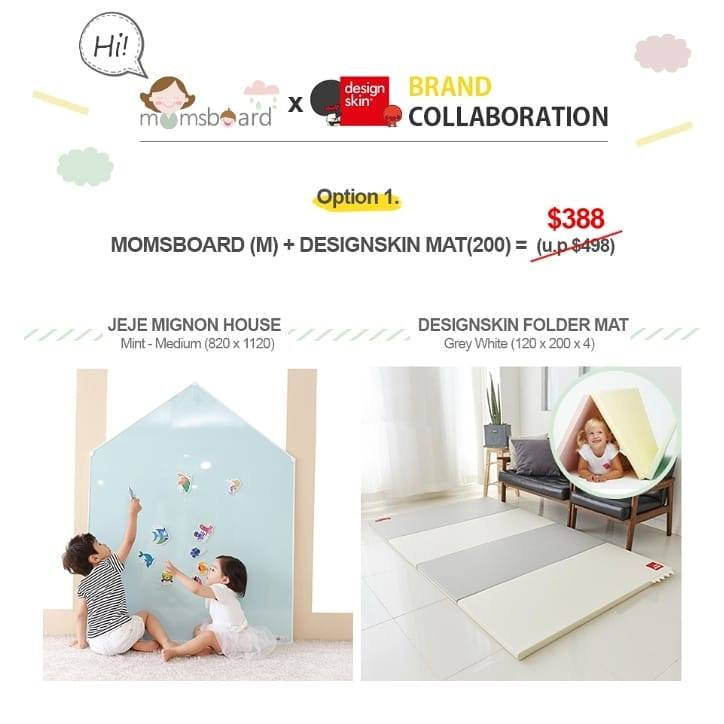 [Exclusive] - Special Brand Collaboration with Designskin x Momsboard