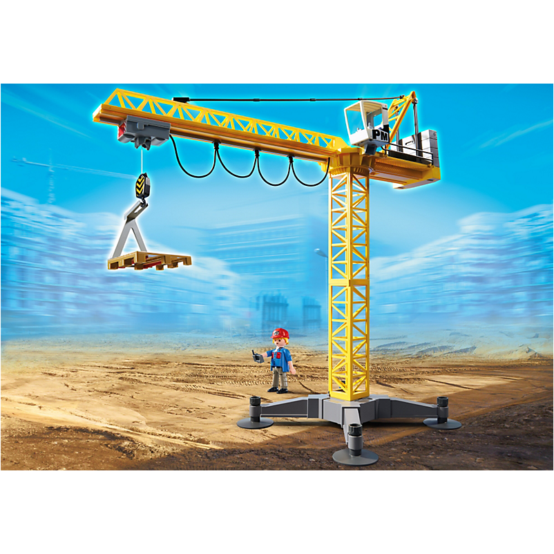 5466 Large Crane with IR Remote Control - Little Baby Singapore - 1