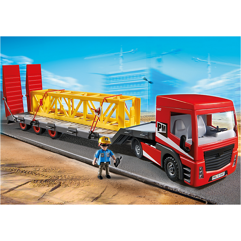5467 Heavy Duty Flatbed Trailer - Little Baby