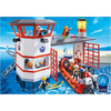 5539 Coast Guard Station with Lighthouse - Little Baby