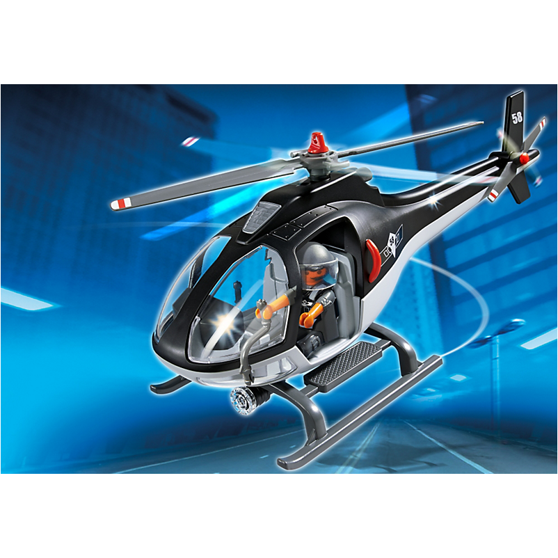 5563 Tactical Unit Helicopter - Little Baby