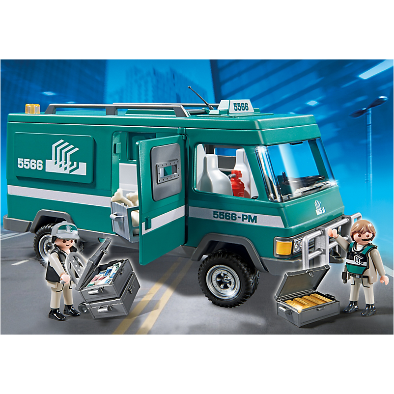5566 Money Transport Vehicle - Little Baby