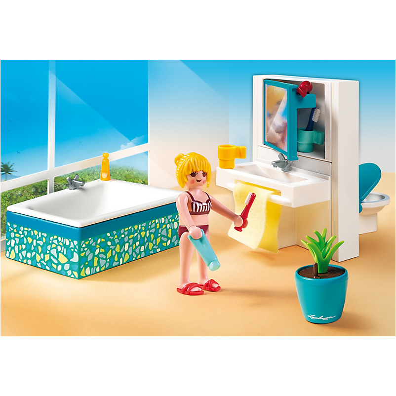 5577 Modern Bathroom - Little Baby