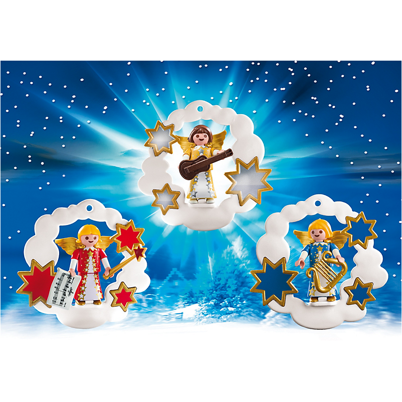 5591 Christmas Angel Ornaments - Little Baby