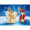 5592 St. Nicholas and Christmas Angel - Little Baby
