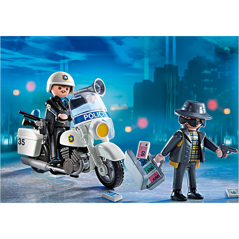 5891 Carrying Case Police - Little Baby Singapore - 1
