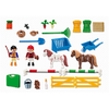 5893 Carrying Case Pony Farm - Little Baby Singapore - 3