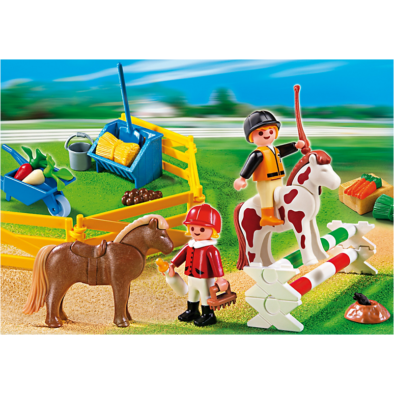 5893 Carrying Case Pony Farm - Little Baby
