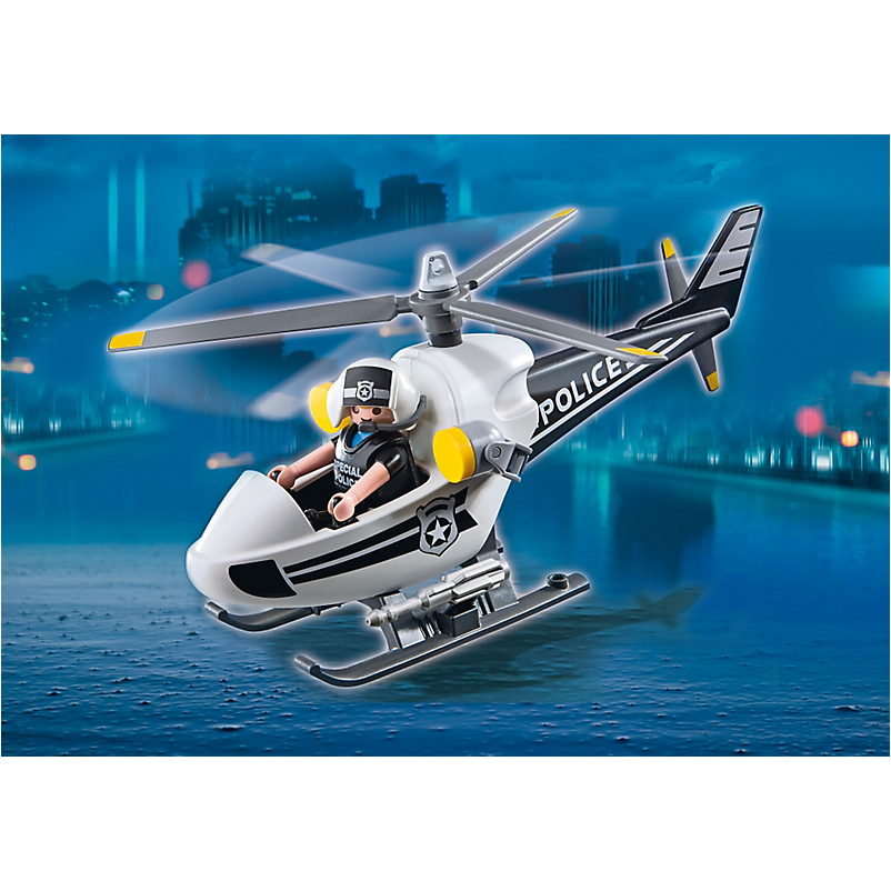 5916 Police Copter - Little Baby