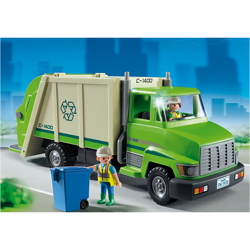 5679 Green Recycling Truck - Little Baby