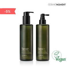 [Bundle -5%] Cosmic Moment - Serein Anti Hair Loss Shampoo + Conditioner Vinegar (Vegan Certified)