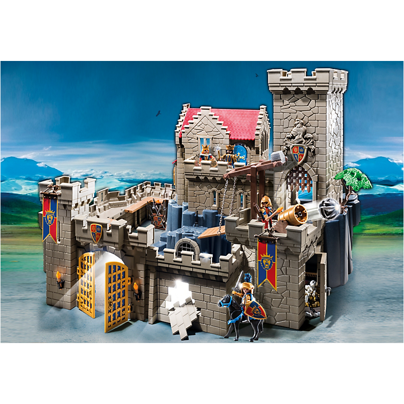 6000 Royal Lion Knight`s Castle - Little Baby