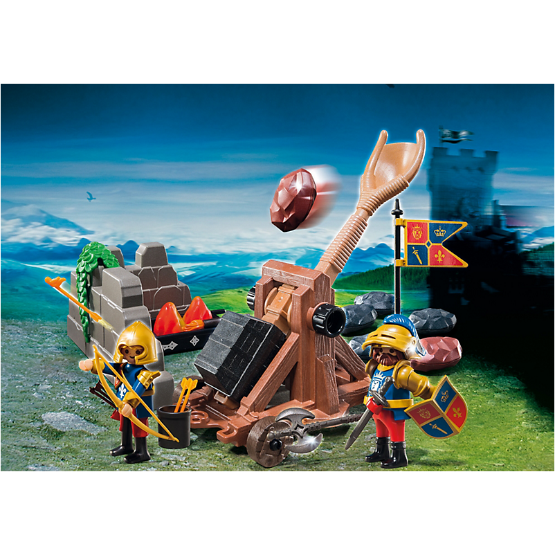 6039 Royal Lion Knights` Catapult - Little Baby