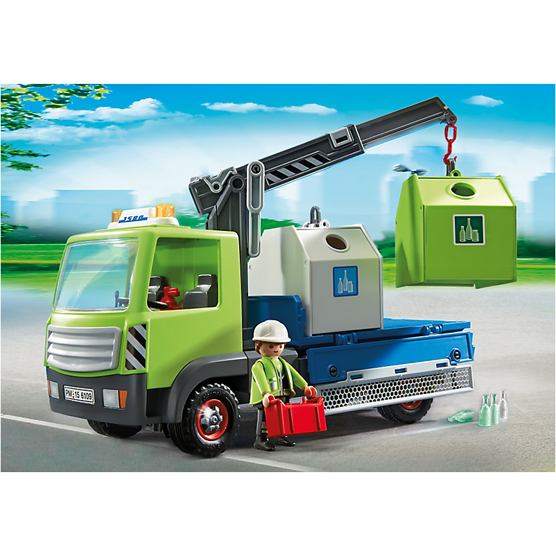 6109 Bottle Bank Truck (Pre Order) - Little Baby Singapore - 1
