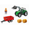 6130 Large Tractor with Trailer - Little Baby Singapore - 3