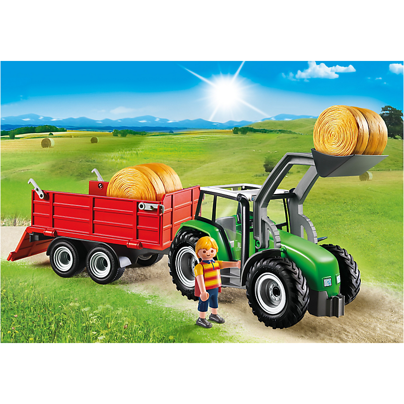 6130 Large Tractor with Trailer - Little Baby