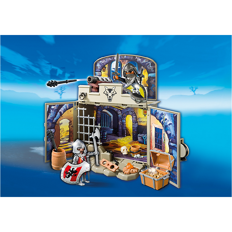 6156 My Secret Knights' Treasure Room Play Box - Little Baby