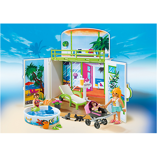 6159 My Secret Beach Bungalow Play Box - Little Baby