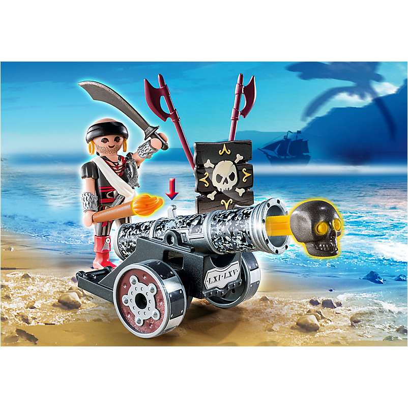 6165 Black Interactive Cannon with Raider *New!* - Little Baby