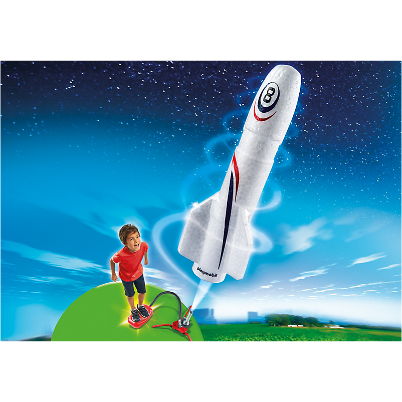 6187 Rocket with Launch Booster - Little Baby