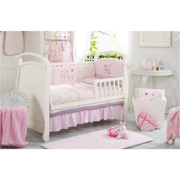 Lucky Baby Prisee 5 Pcs Crib Bedding Set-Bird - Little Baby