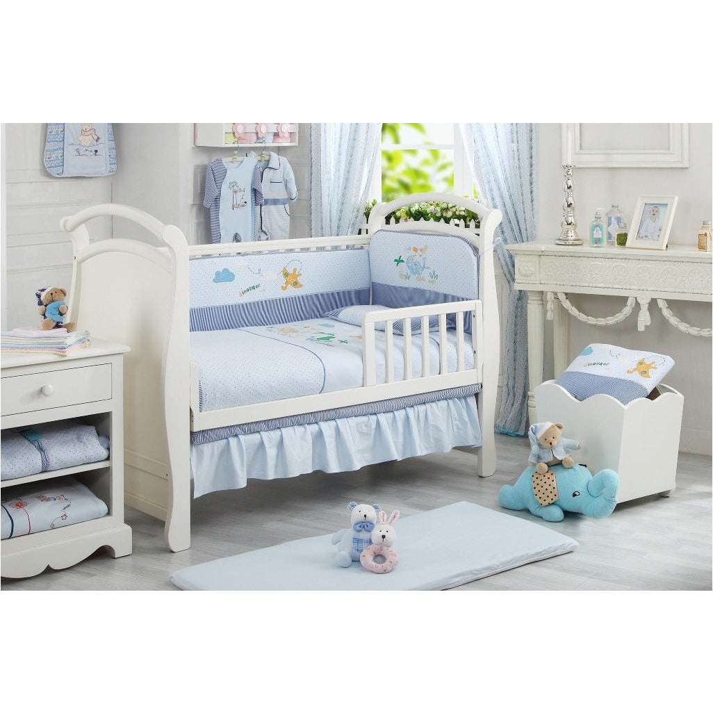 by baby with product arianna the shell bumper bedding piece cribs peanut crib set