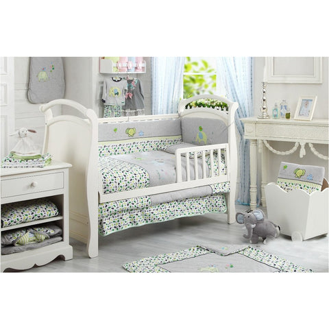 Lucky Baby Prisee 5 Pcs Crib Bedding Set-Elephant