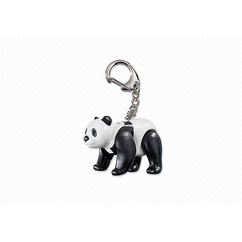 6612 Panda Keyring - Little Baby