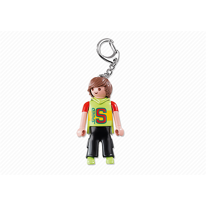 6613 Skateboarder Keyring - Little Baby