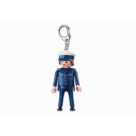 6615 Policeman Keyring - Little Baby
