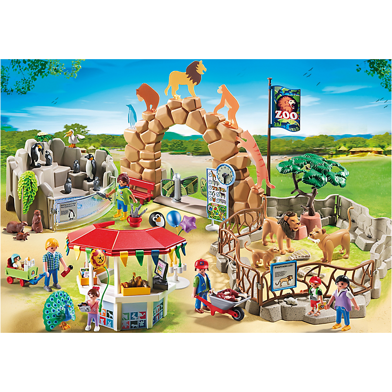 6634 Large City Zoo *New!* - Little Baby