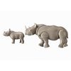 6638 Rhino with Baby - Little Baby