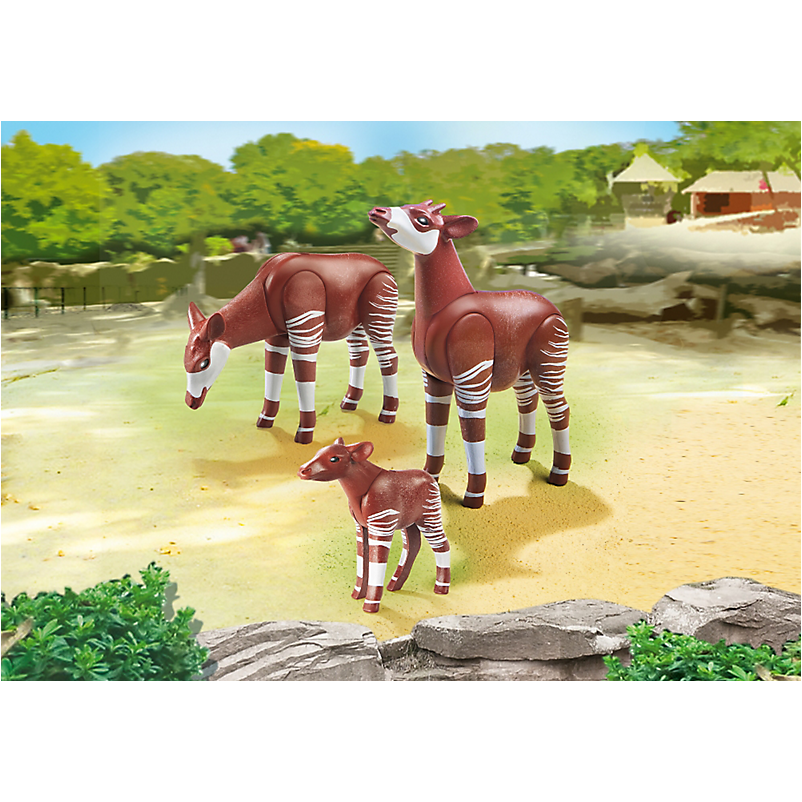 6643 Okapi Family - Little Baby