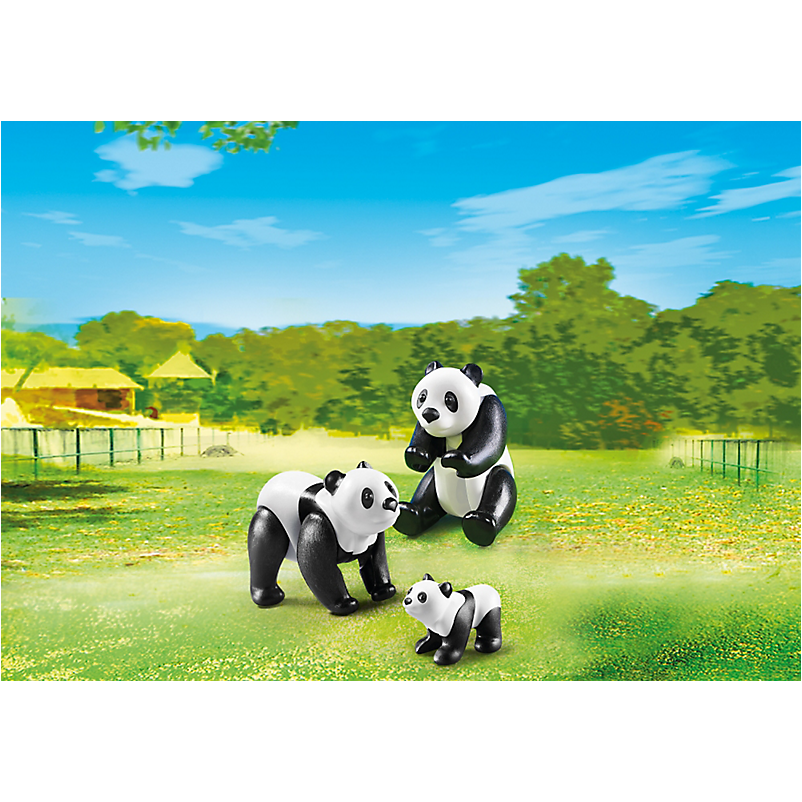 6652 Panda Family - Little Baby