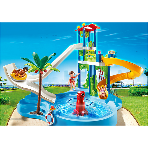 Playmobil 6669 Water Park with Slides *New!*