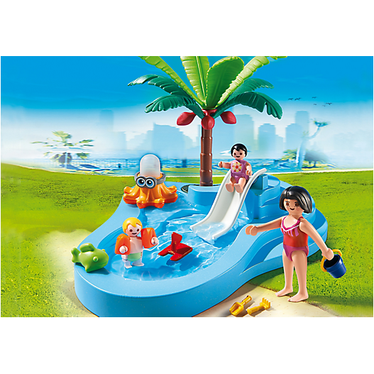 6673 Baby Pool with Slide *New!* - Little Baby Singapore - 1
