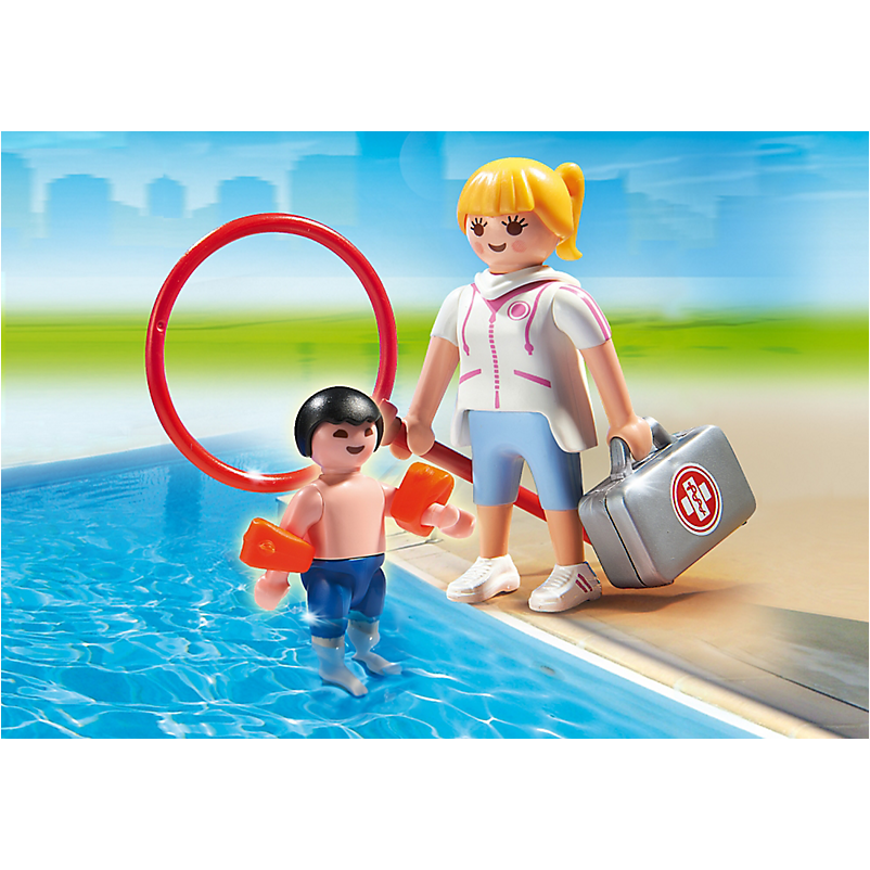 6677 Pool Supervisor *New!* - Little Baby
